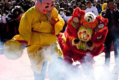 Chinese New Year Art Print by Mark Weaver