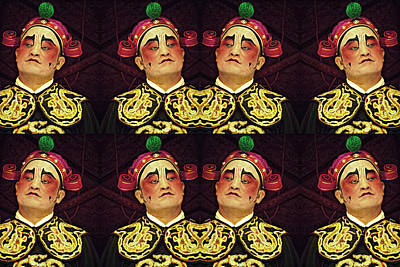 Digital Art - Chinese Opera Art by Ian Gledhill