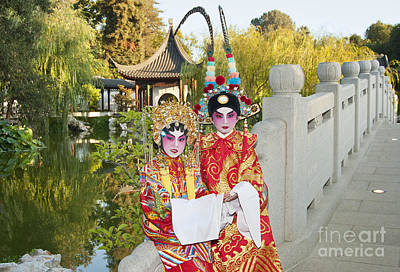 Chinese Opera Children - Traditional Chinese Opera Costumes. Art Print by Jamie Pham