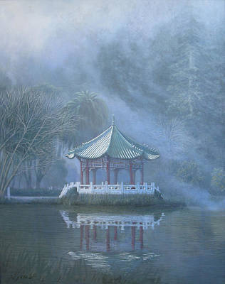 Painting - Chinese Pavilion by Leonard Filgate