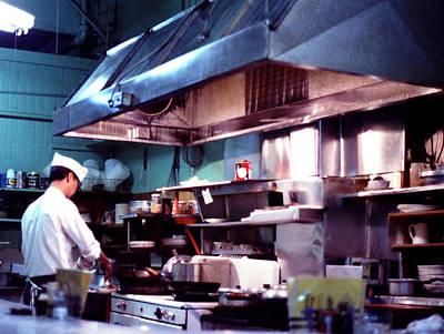 Photograph - Chinese Restaurant by Robert  Rodvik