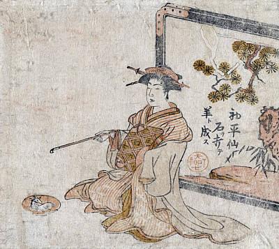 Chinese Sage, C1787 Art Print