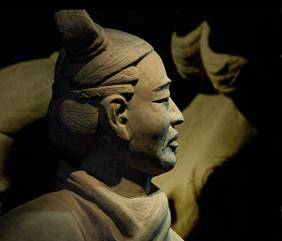 Photograph - Chinese Terracotta Warrior by Ginger Wakem