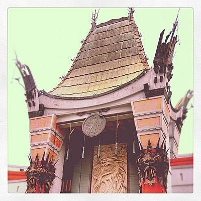 Hollywood Photograph - Chinese Theater by Jill Battaglia