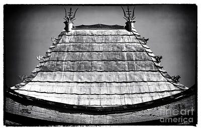 Photograph - Chinese Theater Roof by John Rizzuto