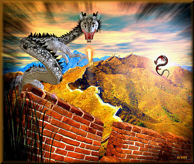 Chinese Wall Original by Daniel Janda