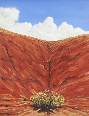 Painting - Chinle Formation Abiquiu Nm by David  Llanos