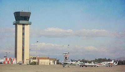 Photograph - Chino Airport 2 by Fraida Gutovich