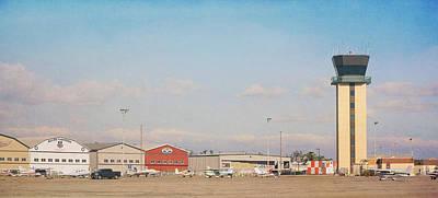Photograph - Chino Airport by Fraida Gutovich