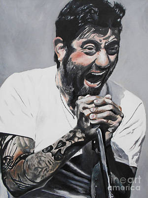 Heavy Metal Painting - Chino Moreno by Kevin J Cooper Artwork