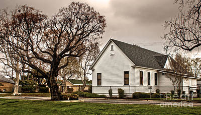 Photograph - Chino Old School House - 02 by Gregory Dyer