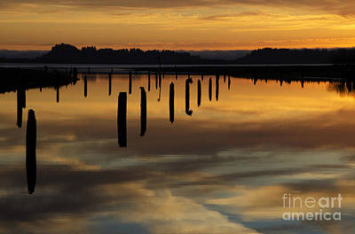 Photograph - Chinook Creek Washington 1 by Bob Christopher