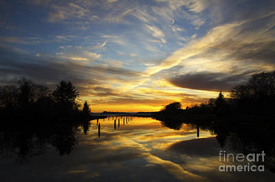 Photograph - Chinook Creek Washington 3 by Bob Christopher