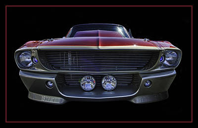 Chip Foose Photograph - Chip Foose Occ Custom Shelby by Jay Droggitis