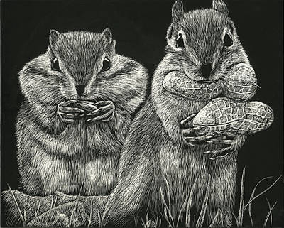 Chip 'n' Dale Art Print