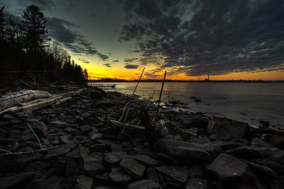 Gichigami Photograph - Chippewa Bay At Dusk by Jakub Sisak