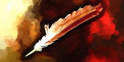 Chippewa Dreams Art Print by Daniel Mowry