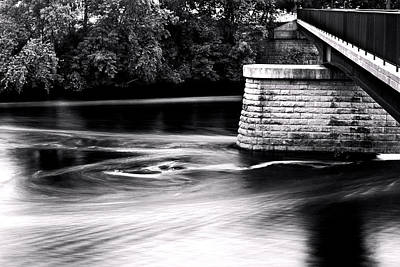 Photograph - Chippewa River Bridge by Tom Gort