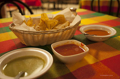 Photograph - Chips And Salsa by Miguel Winterpacht