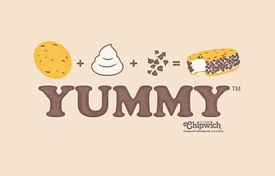 Sandwich Digital Art - Chipwich - Yummy by Brand A