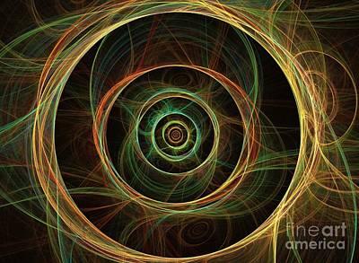 Chirality Art Print by Kim Sy Ok