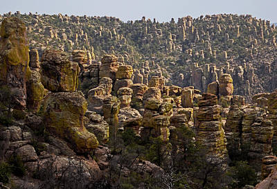 Chiricahua National Park - The Grotto 02 Art Print by George Bostian