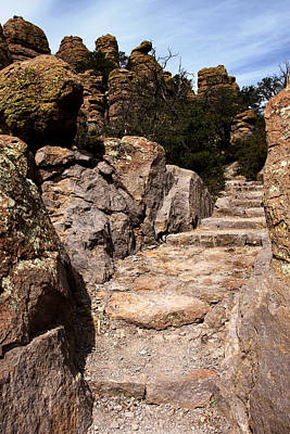 Photograph - Chiricahua Rocks No.4 by Daniel Woodrum