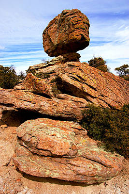 Photograph - Chiricahua Rocks No.5 by Daniel Woodrum