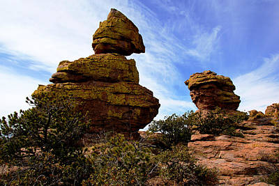 Photograph - Chiricahua Rocks No.6 by Daniel Woodrum