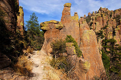 Photograph - Chiricahua Rocks No.7 by Daniel Woodrum