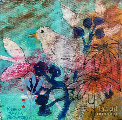 Painting - Chirp by Robin Maria Pedrero