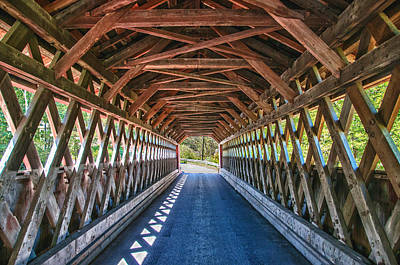 Photograph - Chiselville Bridge by Guy Whiteley
