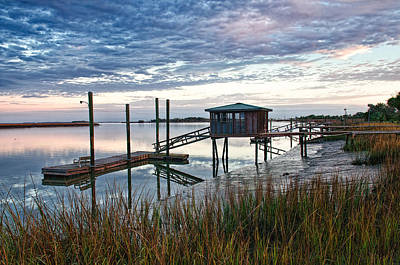 Photograph - Chisolm Island Docks by Scott Hansen