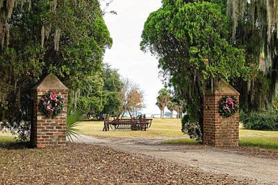 Photograph - Chisolm Island Gates by Scott Hansen