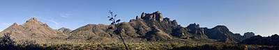 Photograph - Chisos Mountans by Gregory Scott
