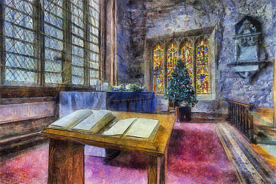 Photograph - Chistmas Service  by Ian Mitchell
