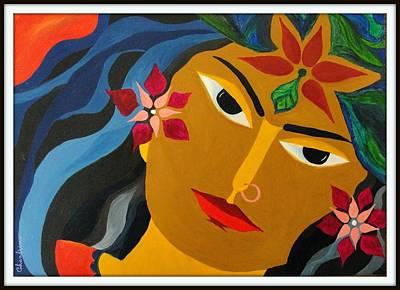 Chitrangada Art Print