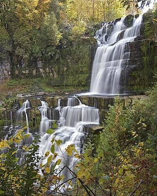 Photograph - Chittenango Falls by Rhys Templar