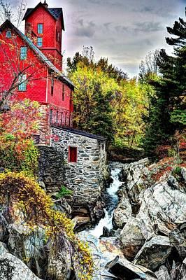 Photograph - Chittenden Mill by John Nielsen