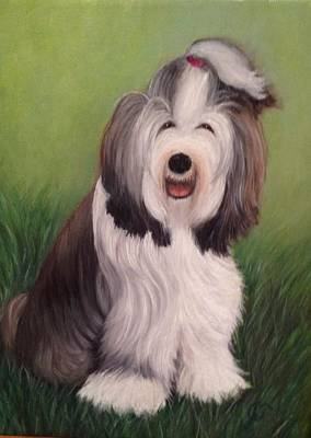 Painting - Chloe by Jeannette Tramontano