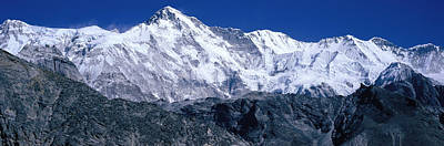 Cho Oyu From Goyko Valley Khumbu Region Art Print by Panoramic Images