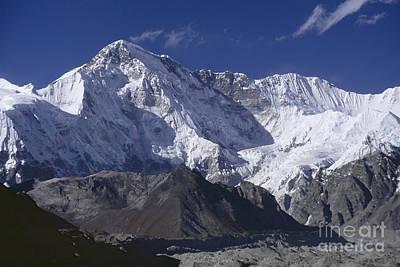 Photograph - Cho Oyu Nepal by Rudi Prott