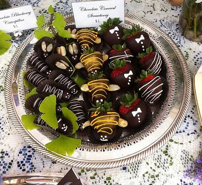 Photograph - Chocolate Berries by Susan Garren