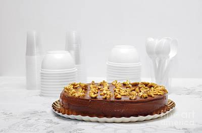 Bakery Photograph - Chocolate Cake by Carlos Caetano