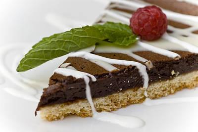 Bakery Photograph - Chocolate Cake by Frank Tschakert