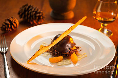 Photograph - Chocolate Covered Dessert. by Don Landwehrle
