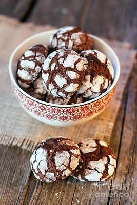 Photograph - Chocolate Crinkles by Viktor Pravdica