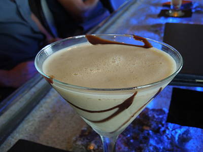 Photograph - Chocolate Martini by Ron Davidson