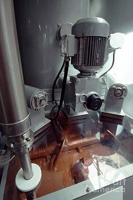 Photograph - Chocolate Production Machine by Rudi Prott
