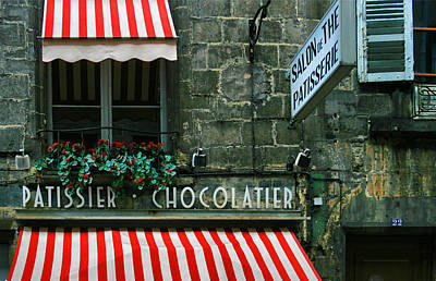 Tasting Photograph - Chocolatier In Clermont Ferrand France  by Georgia Fowler
